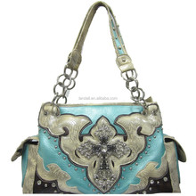 Newest fashion handbag western style women wholesale handbags