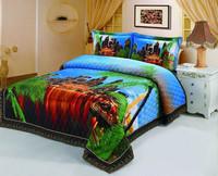 2015 polyester 3D home bedspread set