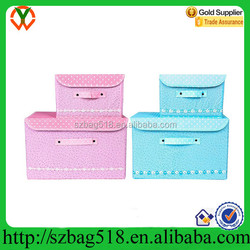 2015 wholesale Blanket Organizer Box with Lid wholesale