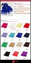 STOCKS New Fashion ladies solid color acrylic scarf 30% silk 70% shawl pashimina bufunda Stoles