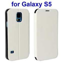 Colorful Ultrathin Horizontal Flip Leather case for Samsung Galaxy S5 gt-i9600 with stand
