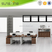 2015 New Design High End Hot Sale 3 person office workstation/office furniture Made In China