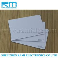new product factory price rfid smart card reader & writer/iso 15693 rfid card/active rfid card made in chia (free sample)