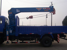 mini truck crane 6tons for sale telescopic boom crane manufacturer