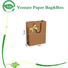 Paper Bag Manufacturer! custom handmade CMYK colorful printed carry shopping kraft paper cement bag