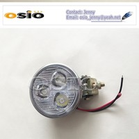 3 inch Round 87Fog Light 3 LEDs 8V-36V 9W High Powe Auto Lamp