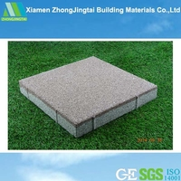 Water Proof Reclaimed Rubber Brick for Driveway