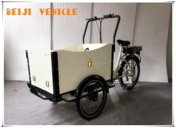 China factory shopping body open cargo three wheel vehicle