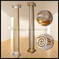 Frp decoración columna romana/pilar de la pu columna romana/decoración de hogar/decoración de la boda pilares