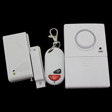 Wireless remote control magnetic door alarm for guarding against thefts Home security alarm system 3308 100pc