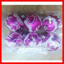 2013 various cheap transparent christmas balls for christmas tree