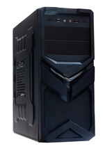middle tower ATX computer case with chassis L430*W180*H430MM,side window pc gaming case,hot seling ATX case