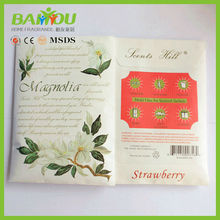 2015 air freshener new products for your choice paper fragrance sachet