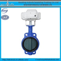 EPDM sealing electric driven butterfly valve DN150 butterfly valve