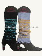 100% Acrylic knitted leg warmer