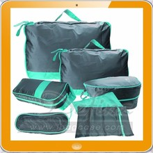 7 Set Packing Cubes - Travel Organizers with Laundry Bag
