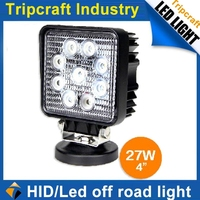 Car accessories IP67 12V 15w 24w 27w 42w 48w offroad led work light for car