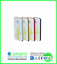Outdoor Foldable Solar Charger Bag 5000mAh Double Output Portable Power Bank