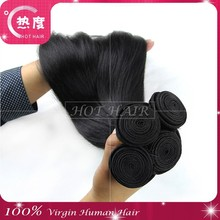 Hot Factory Brazilian Straight Hair Good Reviews Wholesale Natural Color 8-30 inch virgin remy brazilian hair weave