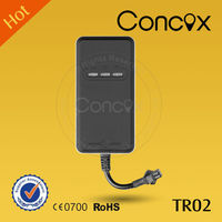 GPS Tracking systems with built-in ON/OFF power/wide voltage input range Concox TR02