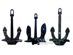 Marine Anchor Manufacturer (Hall, Japan Stockless, U.S.N Stockless)