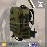 1000D PVC Hiking Solar Mens Back Pack Bag for Outdoor Adventure
