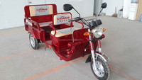 1000W 60V electric tricycle with passenger seat