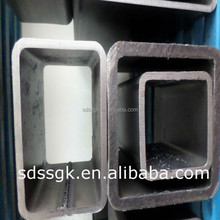 GB/T19001-2008 weight hollow section rectangular iron steel tube