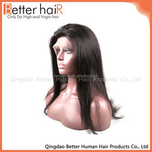 Promotional Unique Design silky straight glueless wig