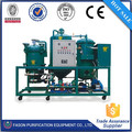 Huile moteur déchets 98% avec des unités de distillation de l'eau de refroidissement à haut rendement de la technologie