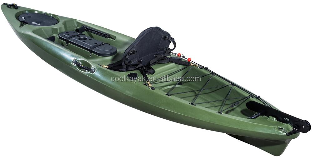 Best selling dace pro angler kayak fishing boat view for Fishing kayak brands