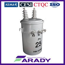 Transformadores Electricos Monofasicos tipo poste