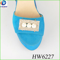 The rectangle rhinestone with Pellet for sexy flat out shoes clips shoes accessories