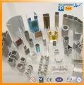 Caliente venta anodizado plata / negro industria perfil de aluminio fabricante