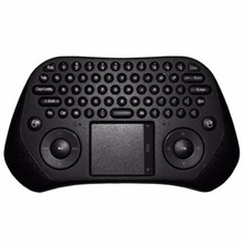 GP800 Wireless Keyboard Smart Remote Air Mouse for TV BOX / Laptop / Tablet PC / Mini PC(Black)