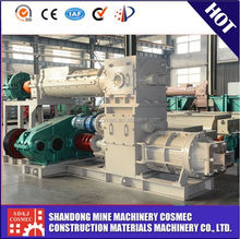 Low investment full automatic easy operate burnt VP50 clay brick making machine for sale