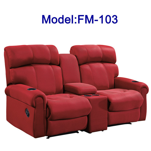 Fm 103 Modern Furniture Reclining Leather Sofa For Sale