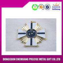 Super quality hotsell custom metal badge craft