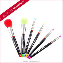 Emily makeup brush,color shine makeup brushes,6pcs brushes makeup