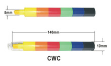 shaped stacker crayon without printing