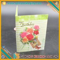 New Design a variety of holiday greeting card / Christmas cards pringting glitter powder