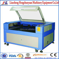 Hot Sale!!! 1290/ Leetro, CCD laser woven label cutting machine for garment labels,badges,embroidery patch