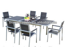 dining and hotel armchairs and table, extendable table and arm chair