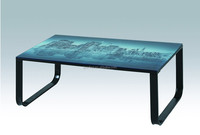 pictures of coffee table colorful tempered glass rectangular coffee tabale sticker coffee table