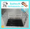 """New Black 20"""" Pet Folding Suitcase Crate Kennel W/ABS Tray Dog Cage"""
