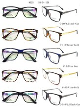 2015 fashion trendy optical frames tr90 and metal combination