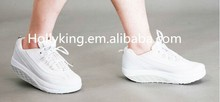 Natural reflections shoes with shoelaces upper material PU+Mesh made in China