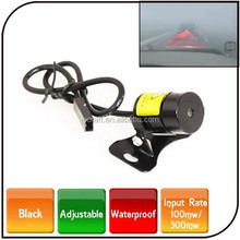 2015 hot sell anti-collision laser warning light Waterproof led car laser fog lamp for safe driving
