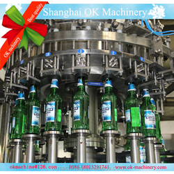 washing filling capping beer filling line/plant