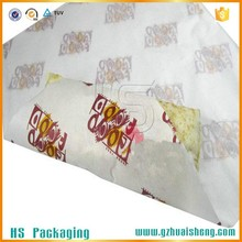 Custom hot roasting chicken paper bag for food packaging